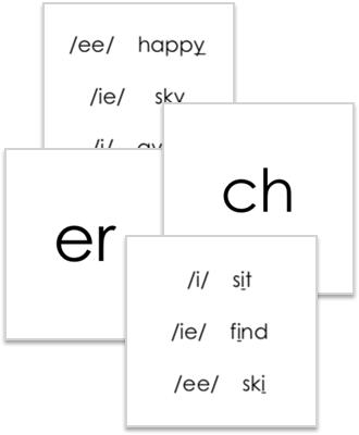 Free Phonogram Flashcards